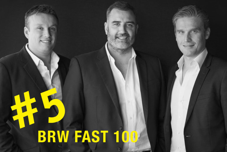 Thirdi Group #5 in BRW Fast 100!