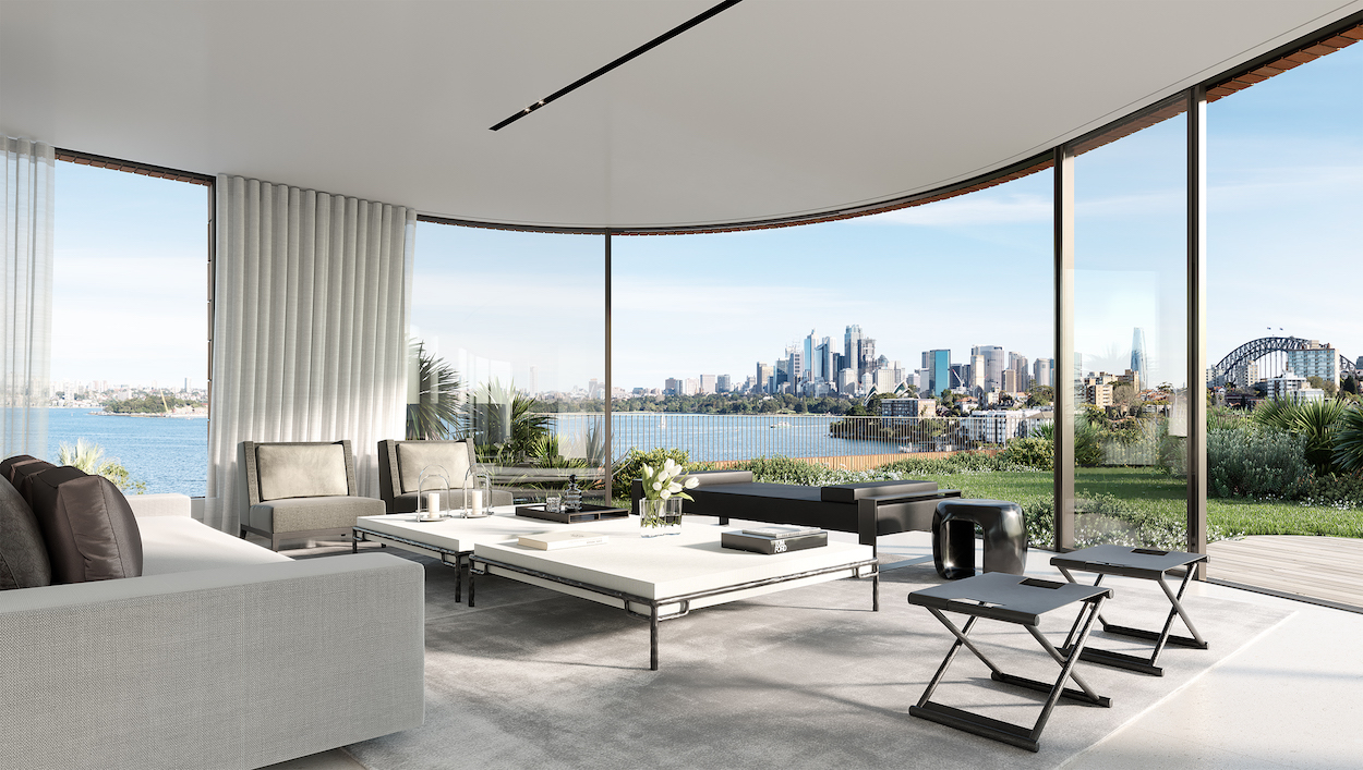 Exclusive living at Sydney Harbour