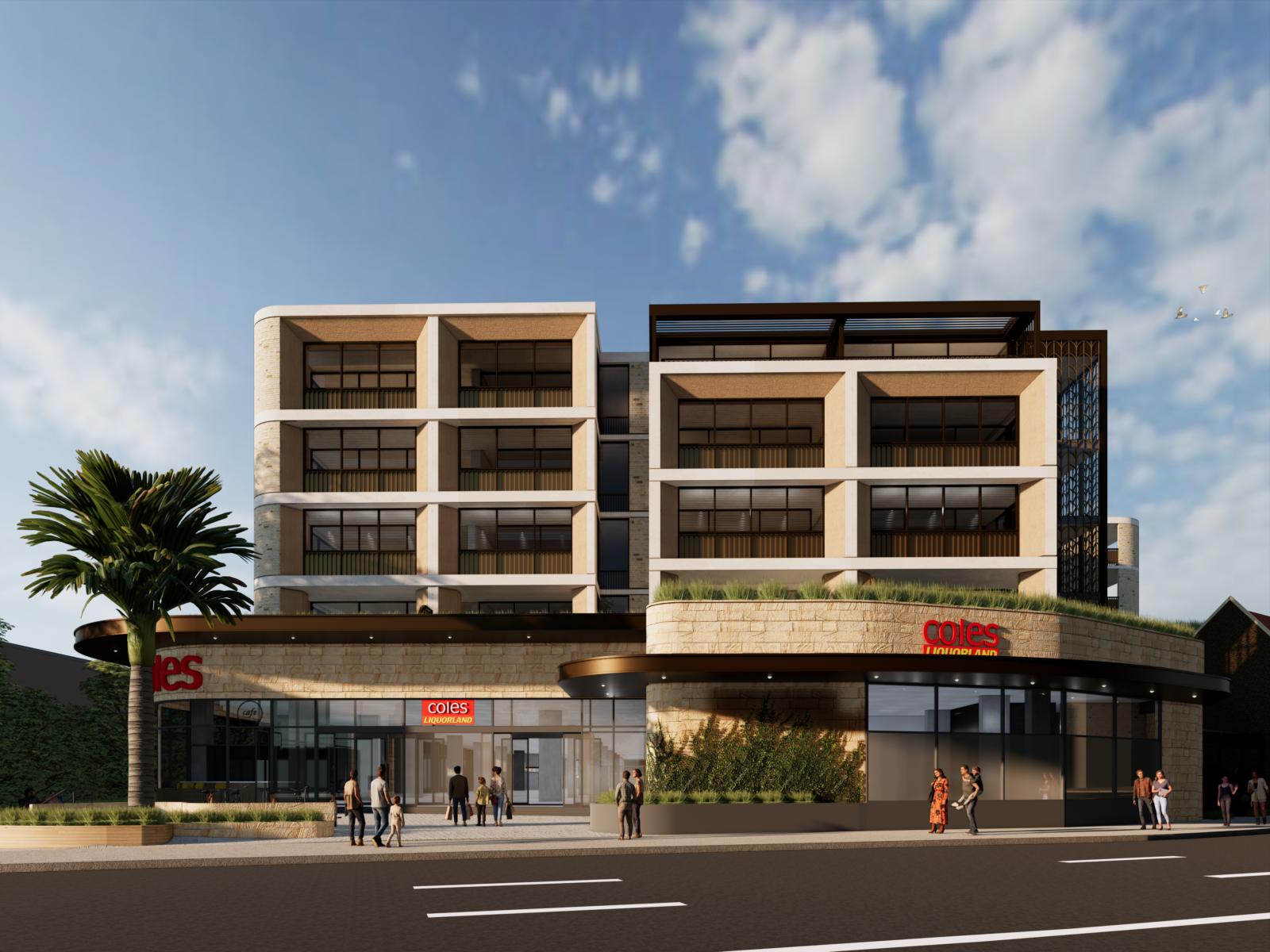 New Shop Top Plans for Sydney's North Shore